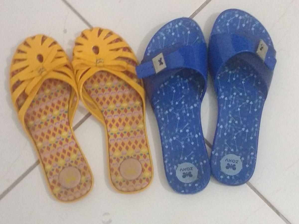 4867e3c99d 2 rasteirinhas confortáveis para o verão!! - rasteirinha zaxy
