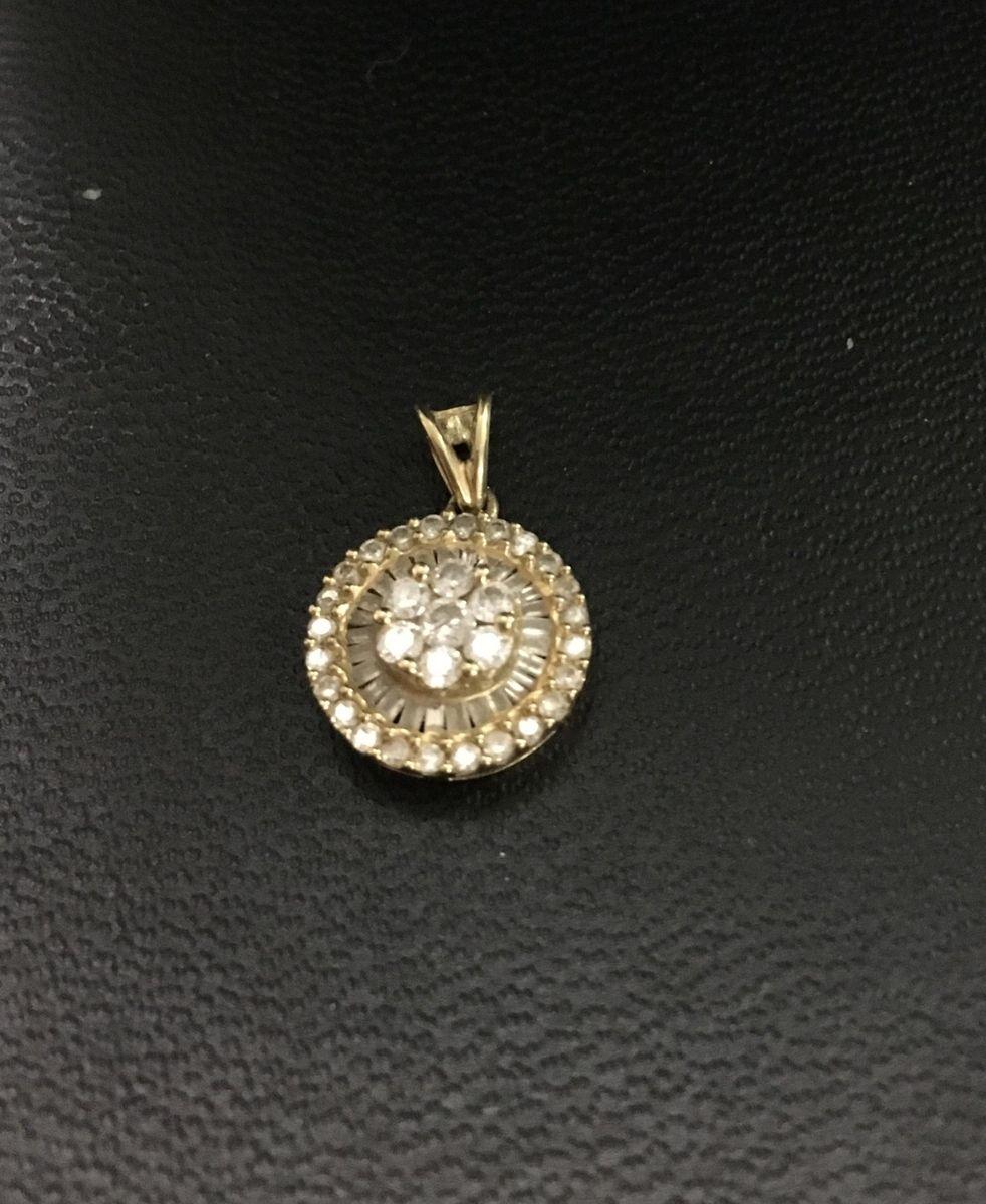 b277c0ad844ef a famosa gargantilha pizza em ouro 18k 750, repletas de diamantes - jóias  jewelry