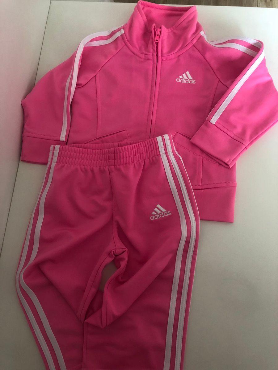 c45afa0579e abrigo adidas infantil novo original - menina adidas