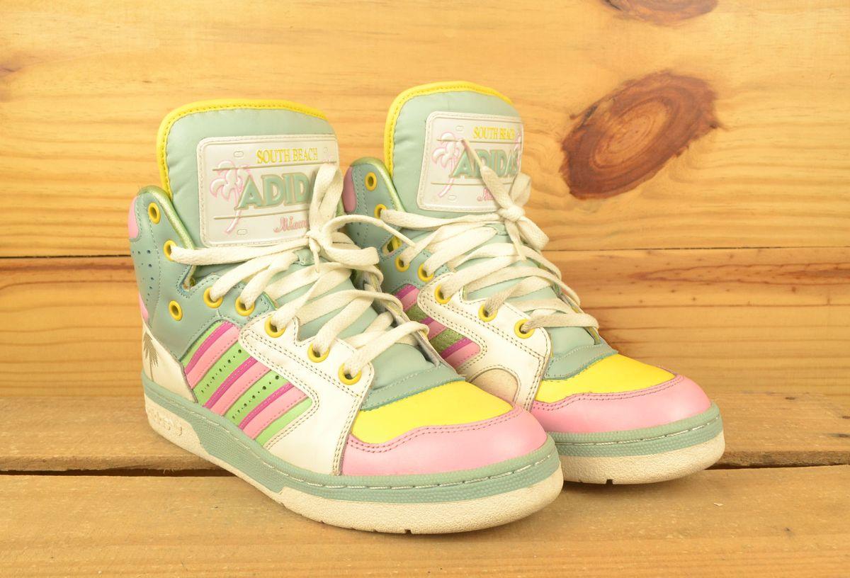 Mejorar Garganta auricular  Adidas Candy Colors - Jeremy Scott | Tênis Feminino Adidas Usado 13304626 |  enjoei