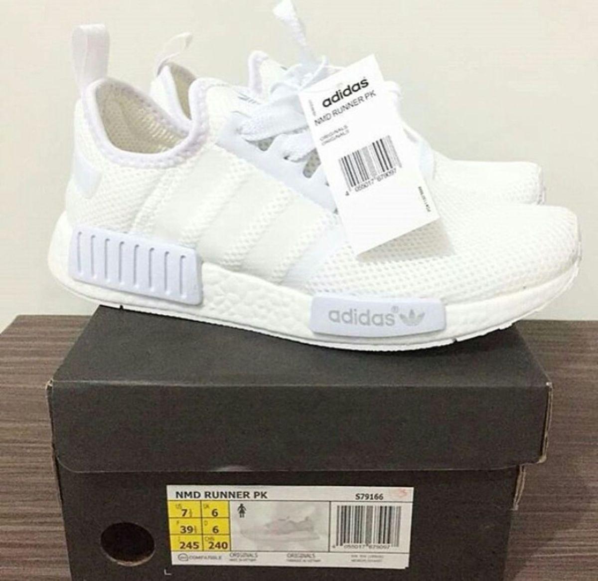 f7e550e5fcc adidas nmd r1 - white - tênis adidas.  Czm6ly9wag90b3muzw5qb2vplmnvbs5ici9wcm9kdwn0cy81nzu4ntc4lzjiywyxzjniodg1otqyzdu5ote4ntm2ywi4zdnmndnklmpwzw  ...