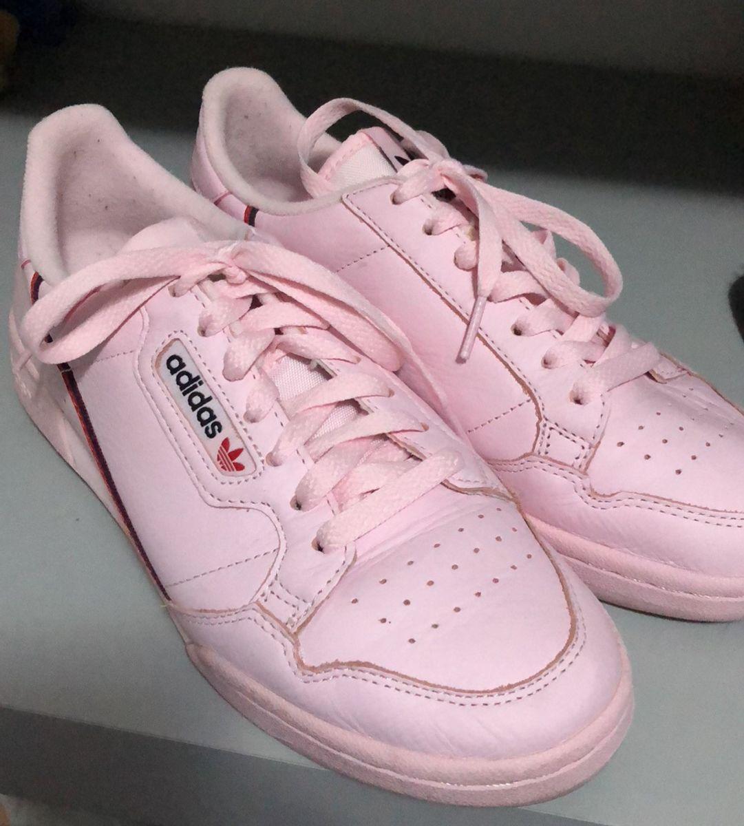 5be9e40fbc6 adidas rascal continental 80 rosa bebê - tênis adidas
