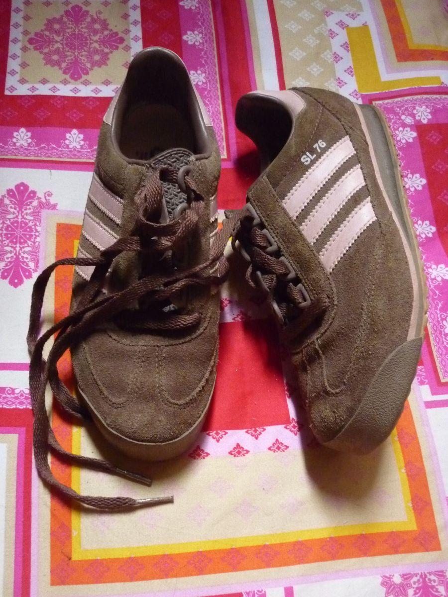 rumor sobre Confinar  Adidas Sl 76 Camurça | Tênis Feminino Adidas Usado 12686905 | enjoei