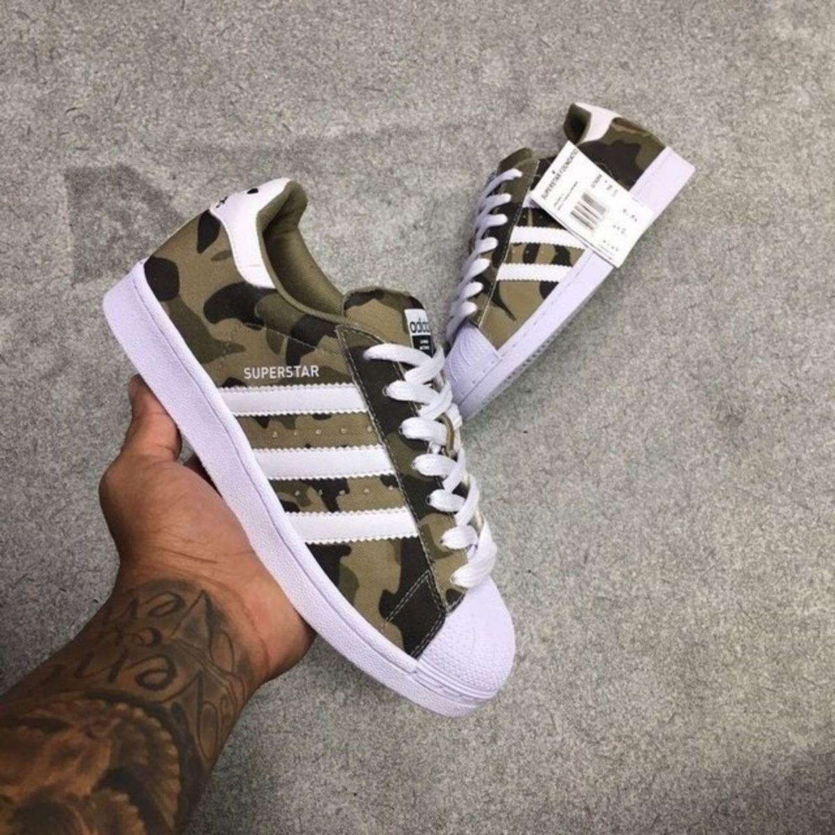 04373c090d5 Adidas Superstar - Camuflado