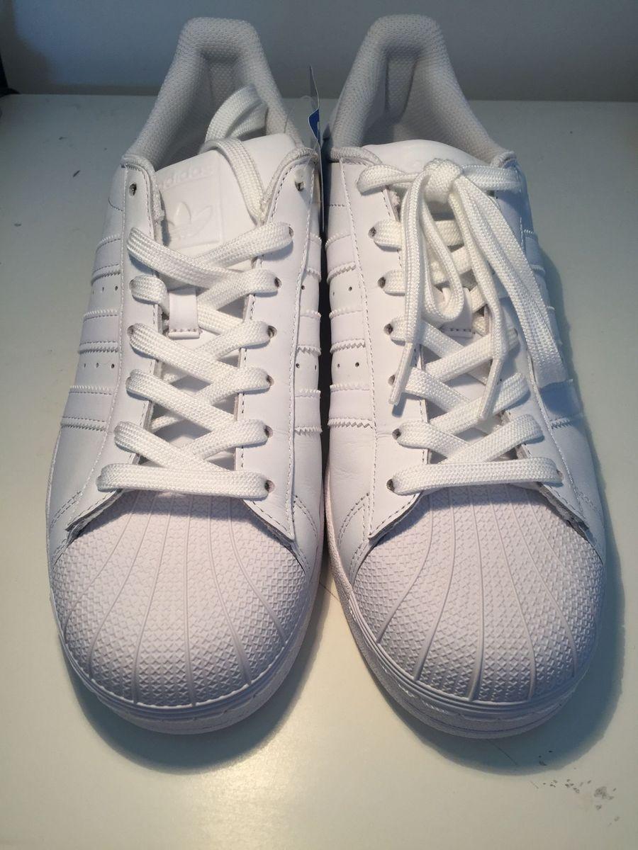 b54aeb399ed adidas superstar foundation novo original - branco - tênis adidas