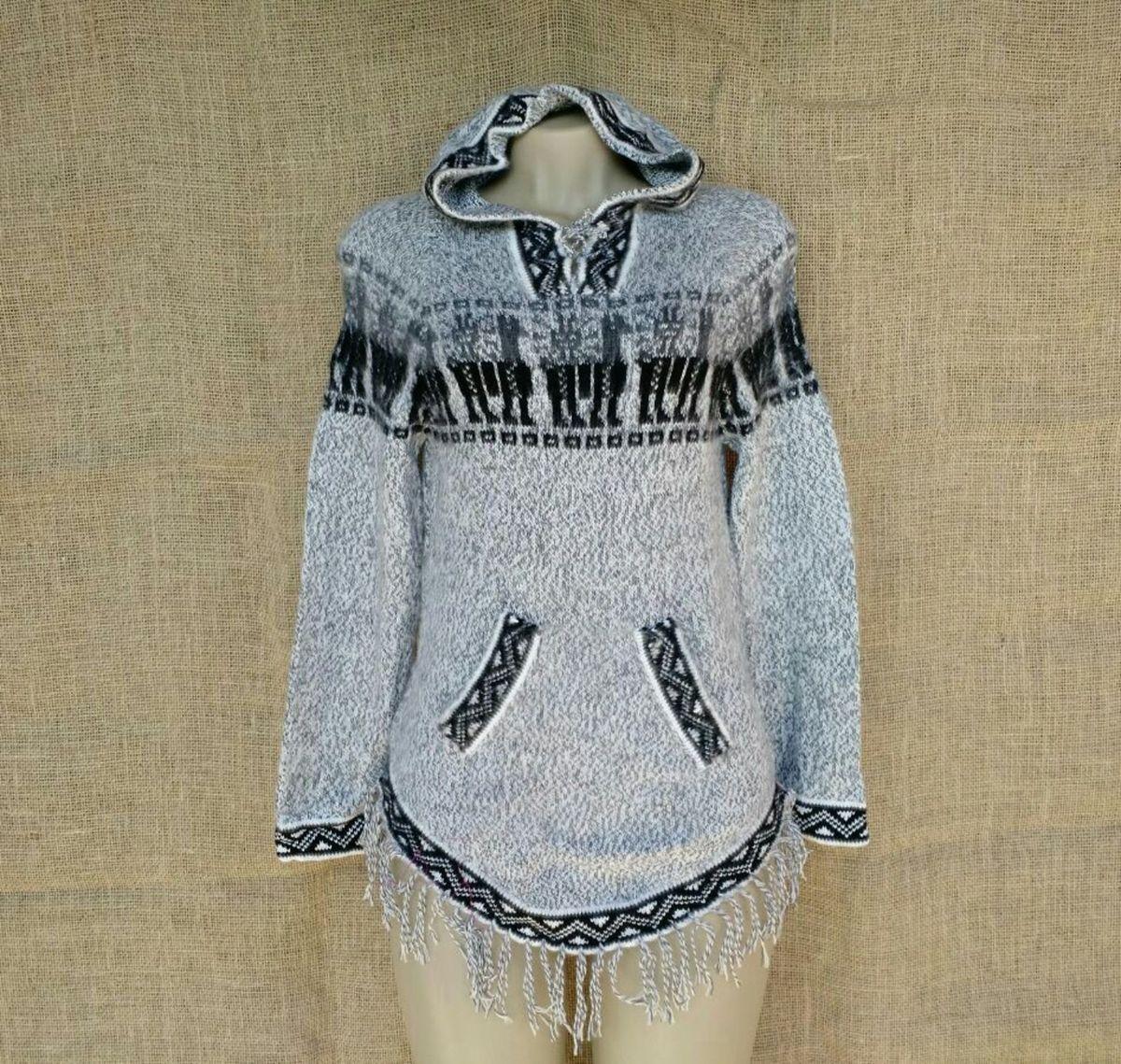 agasalho peruano feminino shakira étnico lhama - casaquinhos sem-marca b604ecdc72e7