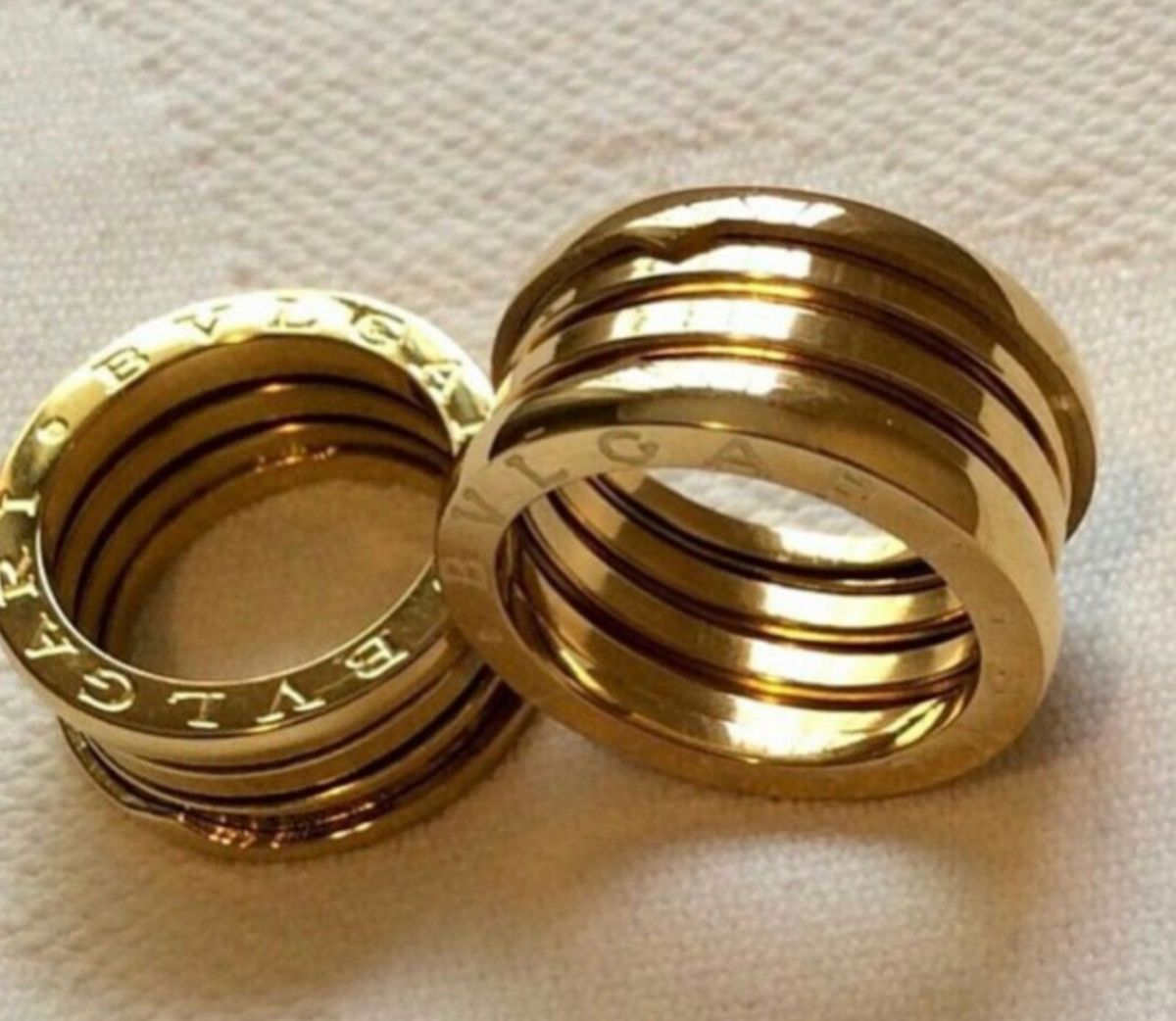 db9621e6f90 aliança de ouro 18k modelo bvlgari - jóias bvlgari