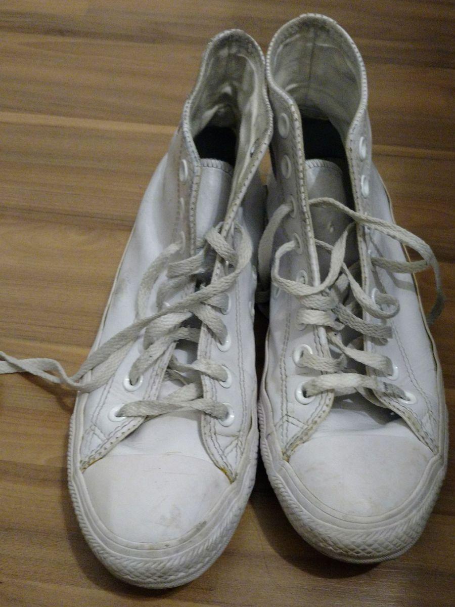 52d3351cca3 all star branco couro - tênis converse.  Czm6ly9wag90b3muzw5qb2vplmnvbs5ici9wcm9kdwn0cy8xotewmtkvotlmy2zjyju4ndvjy2q3nddjmze3zdhlownimdi3y2iuanbn  ...