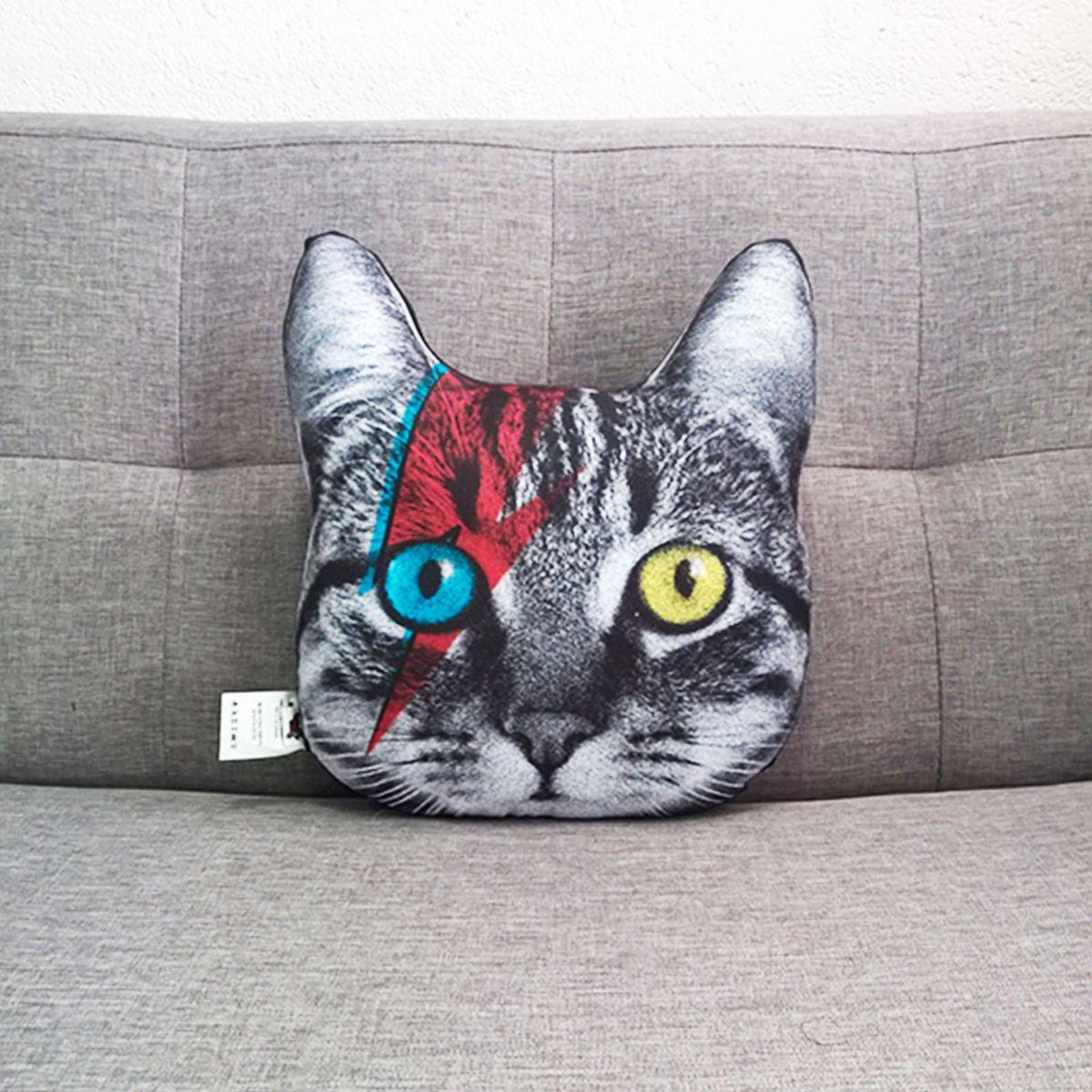 almofada gato bowie filhote - decoração mo cuishle