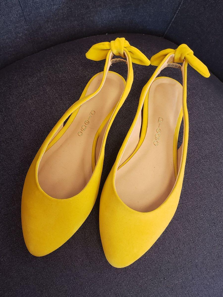 amarelinda - sapatilha prego