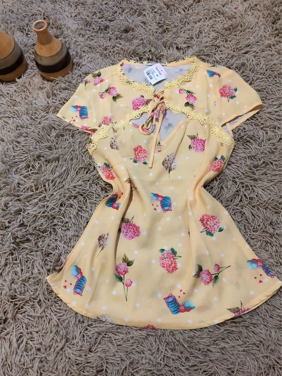 amarelinha - blusas sem marca