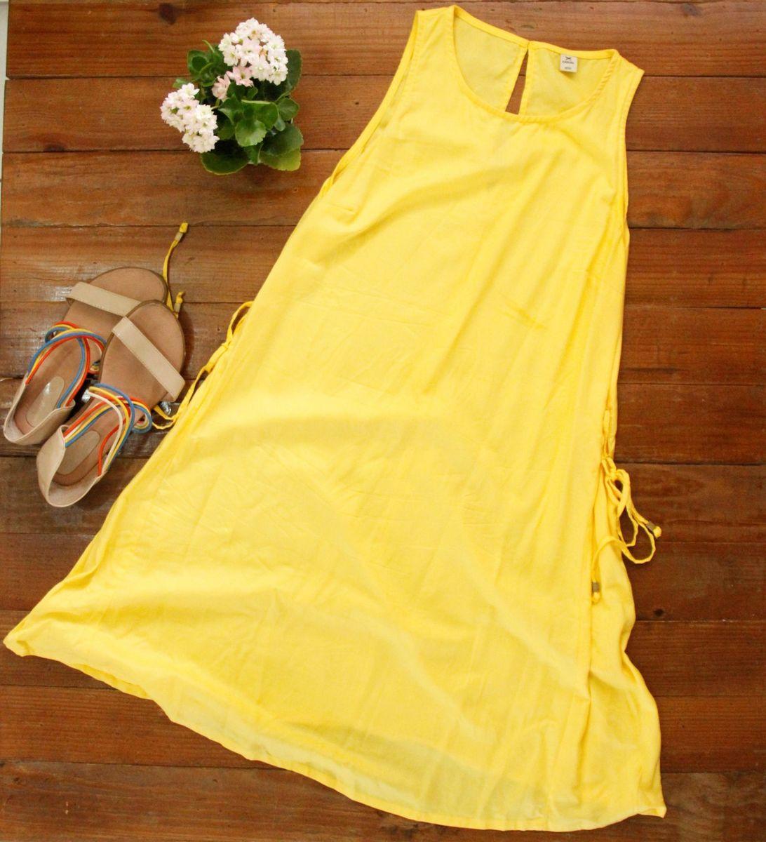 amarelinho hering - vestidos hering