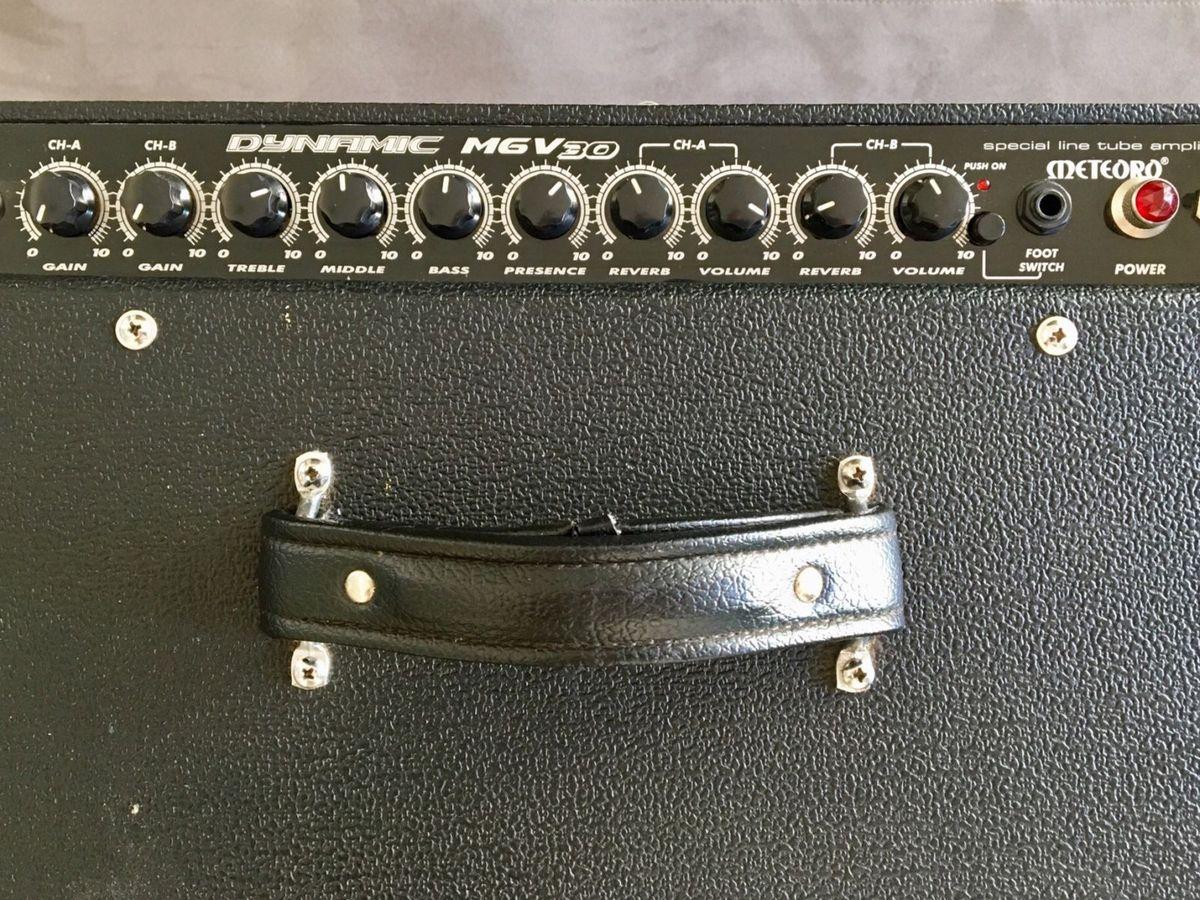 Amp Meteoro Mgv30 Valvulado Pra Guitarra   Item Info   Eletro Meteoro Usado  26126558   enjoei 86b69c61f3