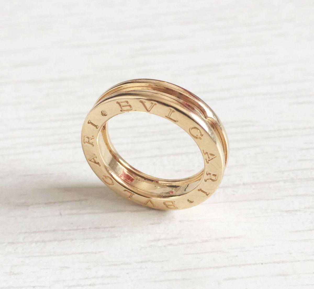 fd15f4765db anel bulgari - b. zero 1 ouro amarelo 18k - jóias bvlgari