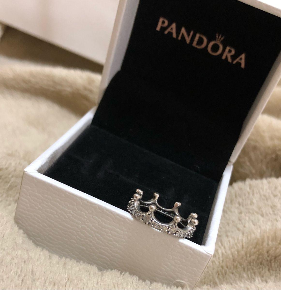 anel pandora falange - jóias pandora