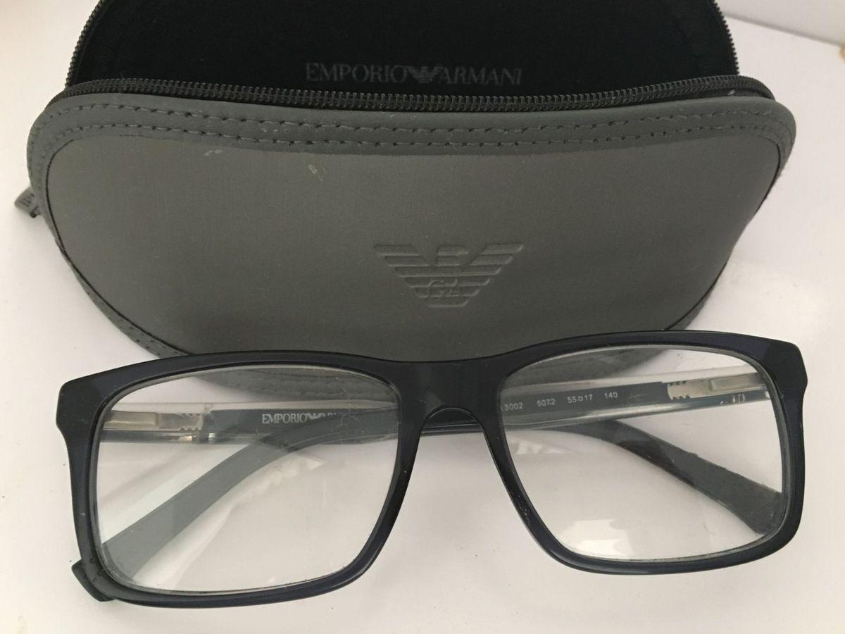 8abfa752aa7e0 Armação de Grau Armani Exchange   Óculos Masculino Giorgio Armani ...