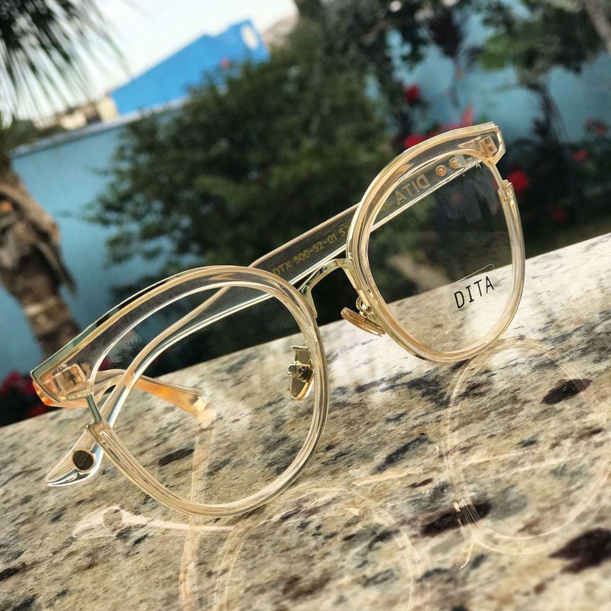 armação de grau dita - óculos celine.  Czm6ly9wag90b3muzw5qb2vplmnvbs5ici9wcm9kdwn0cy8xmdc0ntavyjhhntq3ztc4ntbjmdfhzjhlymy2mtzlmdczmdiyndmuanbn  ... cc2a0cdd34