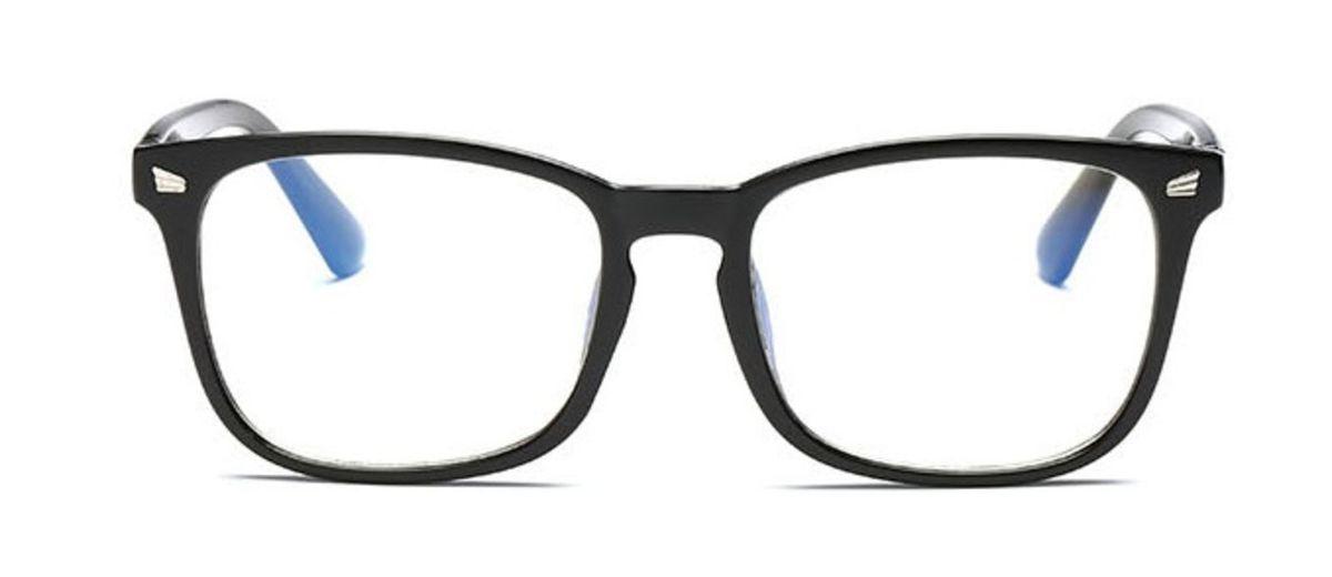 2fa1a8f47951e armação de grau óculos retangular tradicional - óculos sem marca