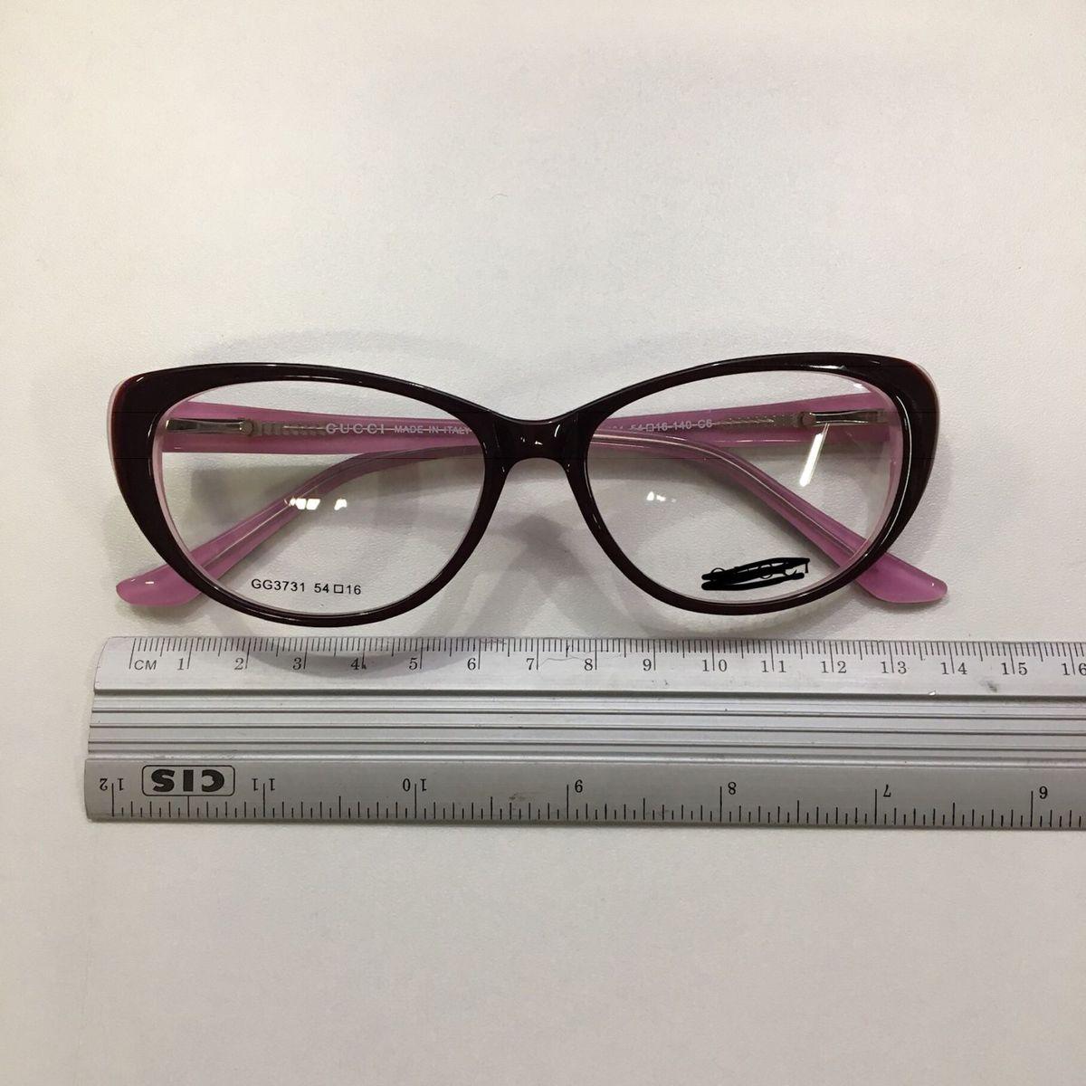 4a8531d011bb9 armação de óculos de grau acetato gatinho vintage bordô e rosa - óculos  sem-marca
