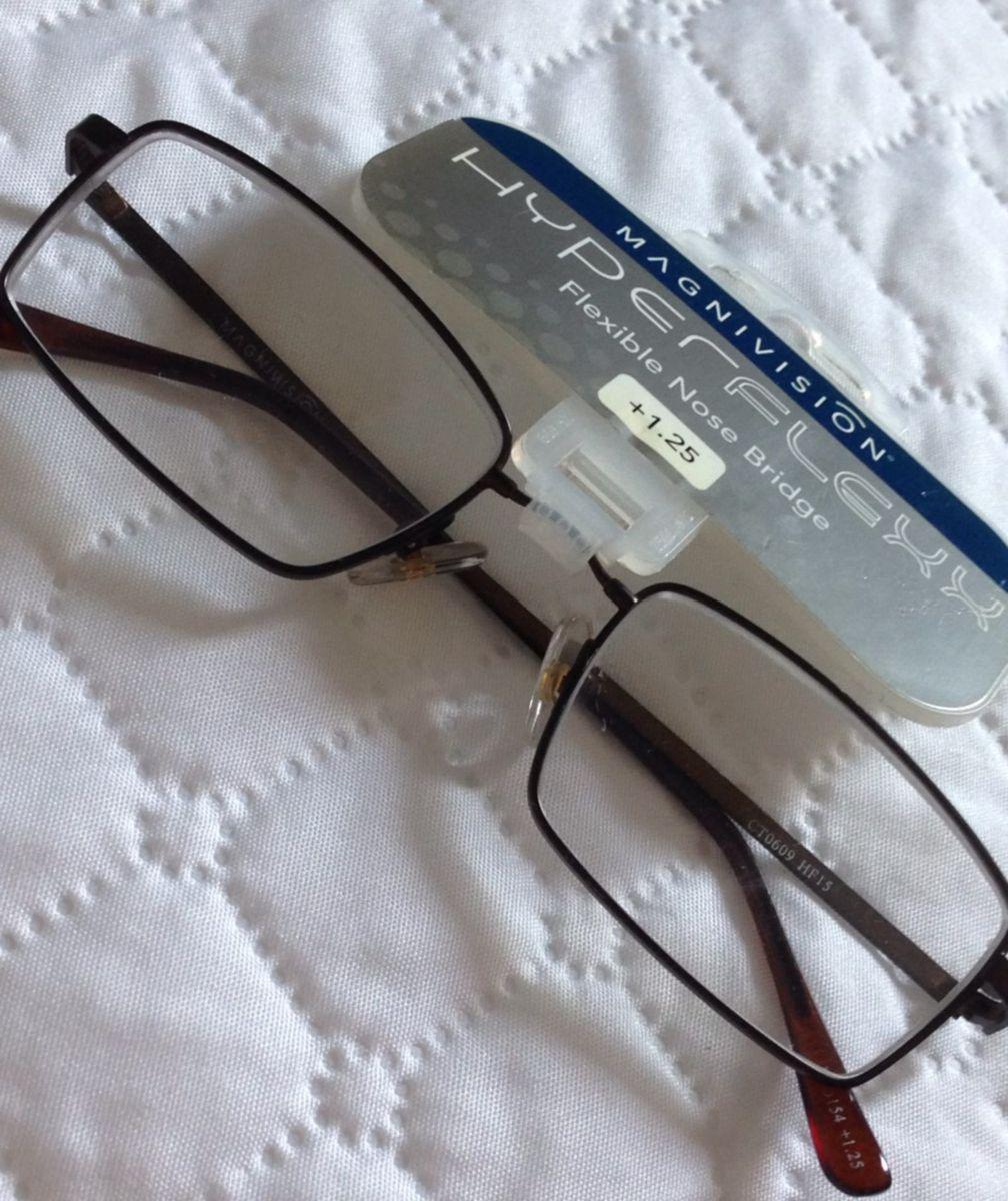 597caa93b armação de óculos de grau com lentes de leitura reading glasses - óculos  magnivision - hiperflexx