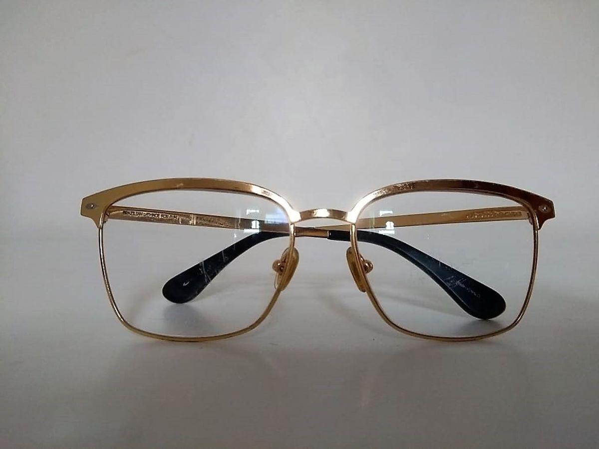 Armação de Óculos de Grau Dourada   Óculos Feminino Chilli Beans ... 48120d020f