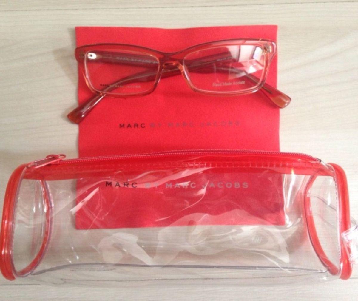 525dbd13cd9c0 armação de óculos de grau (receituário) marc jacobs novo - óculos marc  jacobs