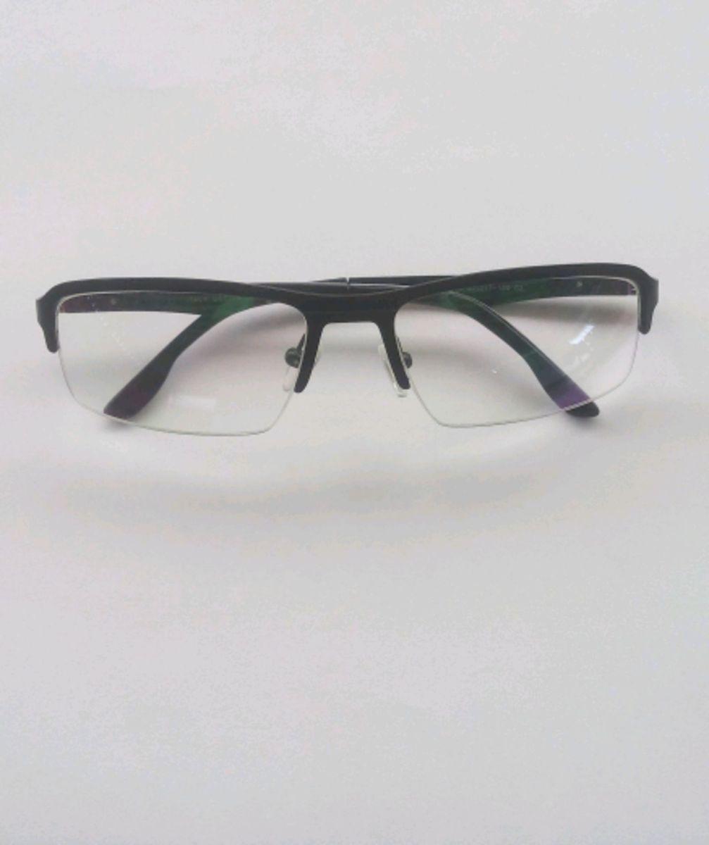 4d4b56b9b66e4 Armação de Óculos Esportiva   Óculos Masculino Italy Design Nunca ...