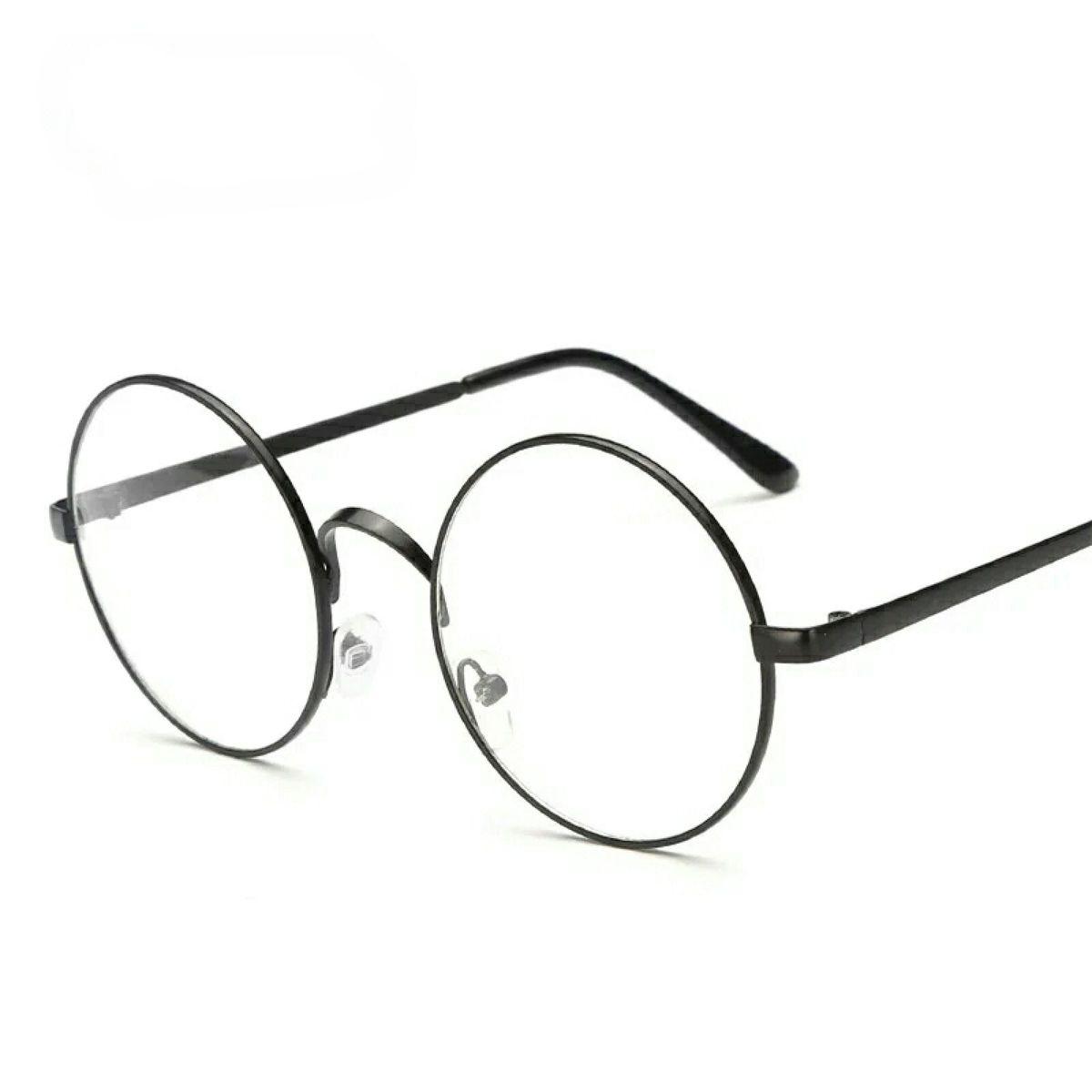 bb54fe25b81c9 armação de óculos grau retrô redondo unissex - óculos importado