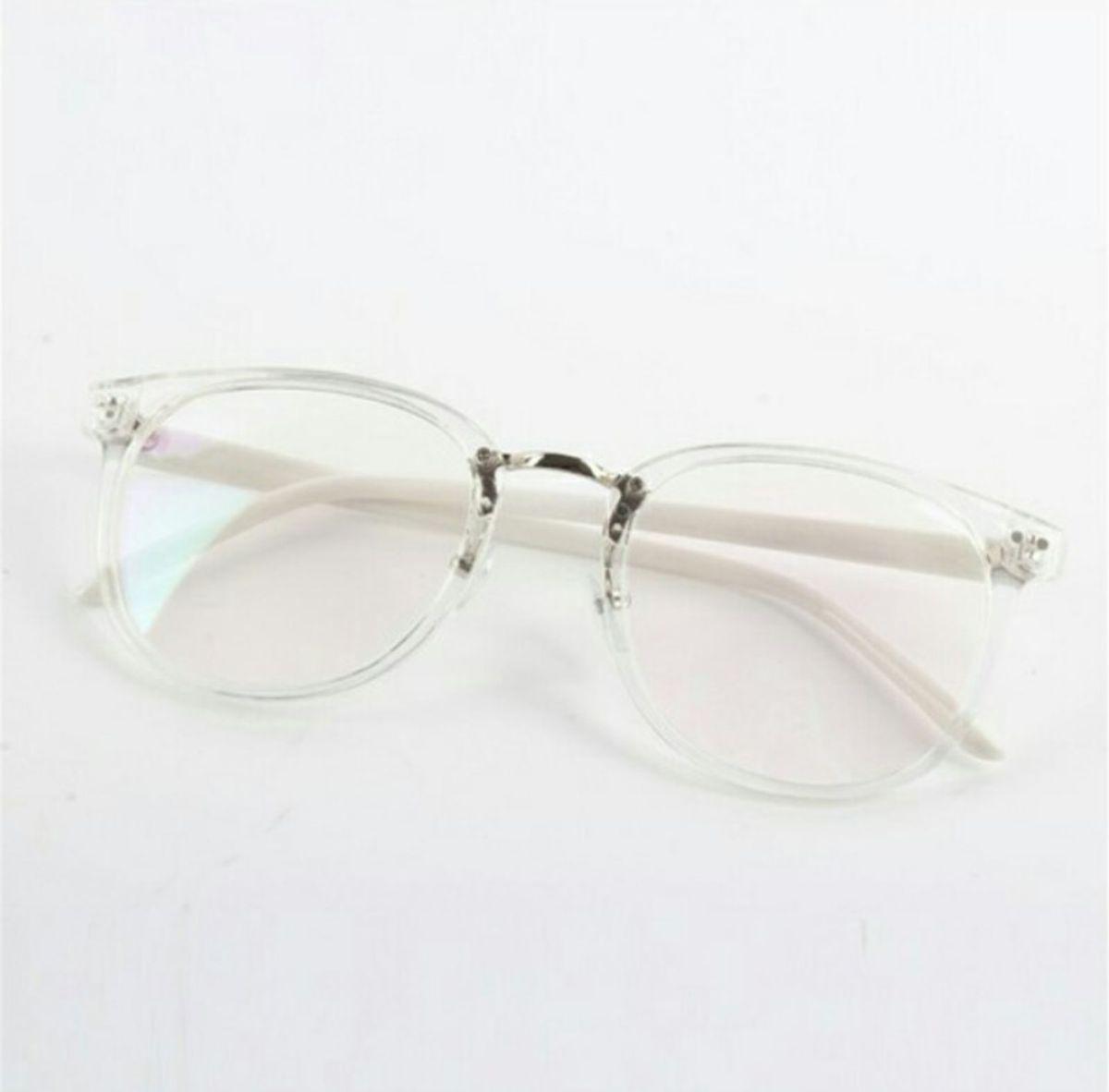 cc508a04e68c4 armação de óculos grau retrô unissex transparente importado - óculos  importado