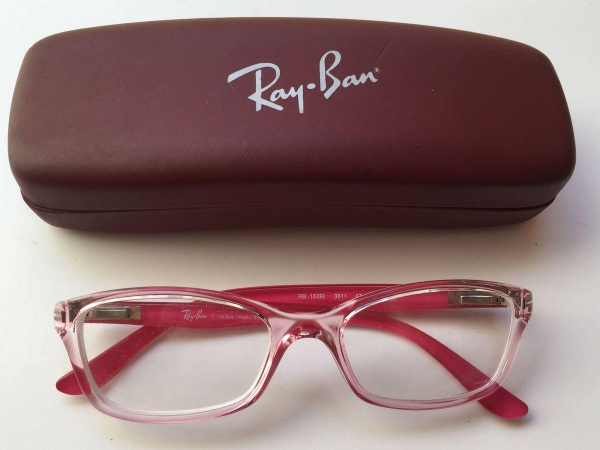 Armação de Óculos Infantil Ray-ban   Item Infantil Ray Ban Usado ... 252b11e028