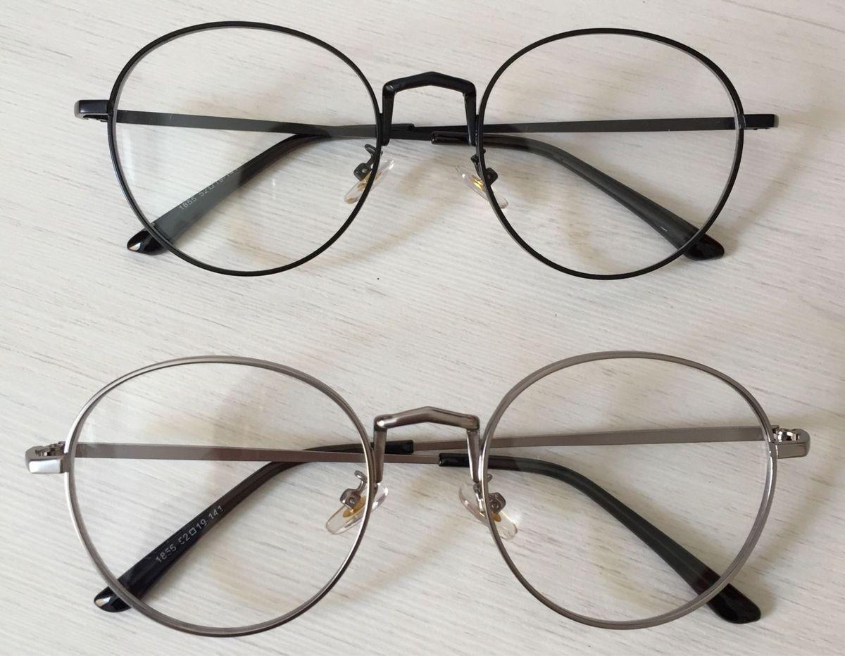 Armação de Óculos Round Redondo oval   Óculos Feminino Longkeeper ... 73c49c2d50