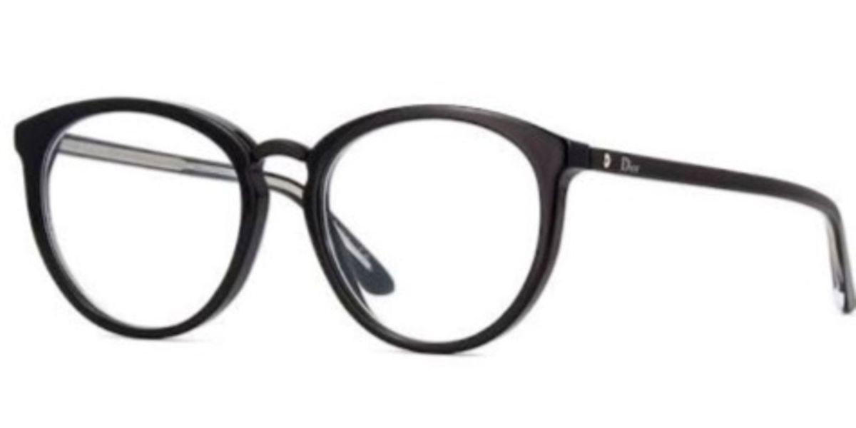 Armação Dior para Grau Nova Preta Óculos de Grau   Óculos Feminino ... 95feee226a