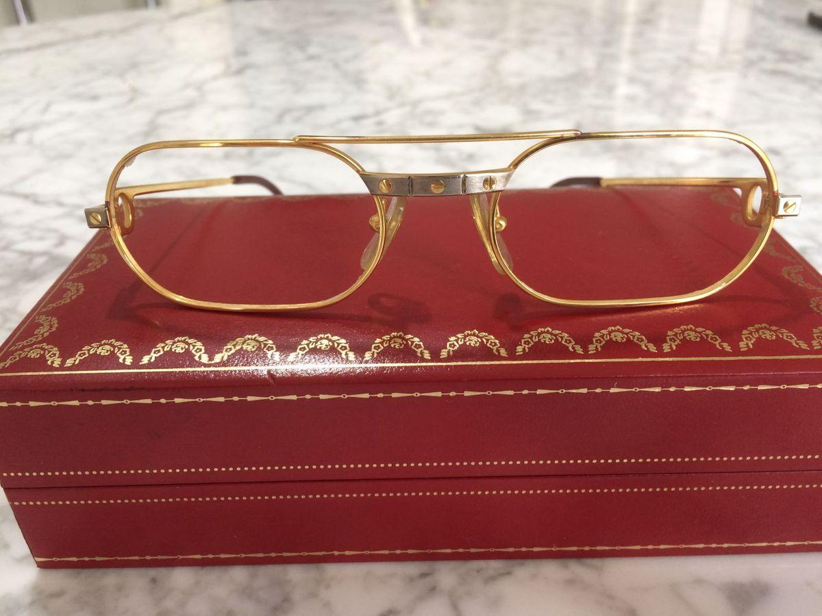 9491ff97d75 armação em ouro cartier - óculos cartier.  Czm6ly9wag90b3muzw5qb2vplmnvbs5ici9wcm9kdwn0cy81odkynza2lzgymtrjmwmxothhzgzkzjaymdrmmjq2yje3mwyzmwzjlmpwzw  ...