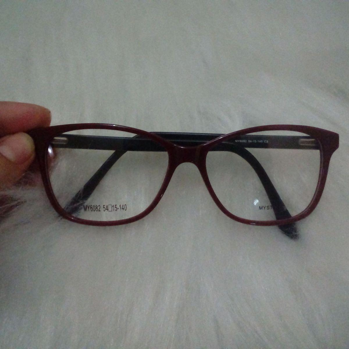de693222d Armação Feminina Acetato   Óculos Feminino Nunca Usado 27112755   enjoei