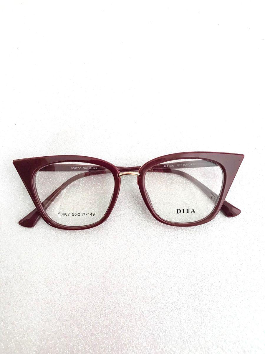 armação gatinha bordô - óculos dita.  Czm6ly9wag90b3muzw5qb2vplmnvbs5ici9wcm9kdwn0cy82otayotgwl2jkzwqwy2u1zwezognizwrlnmq3ztnmowzmmjq0ownjlmpwzw  ... eeb4bbea6e