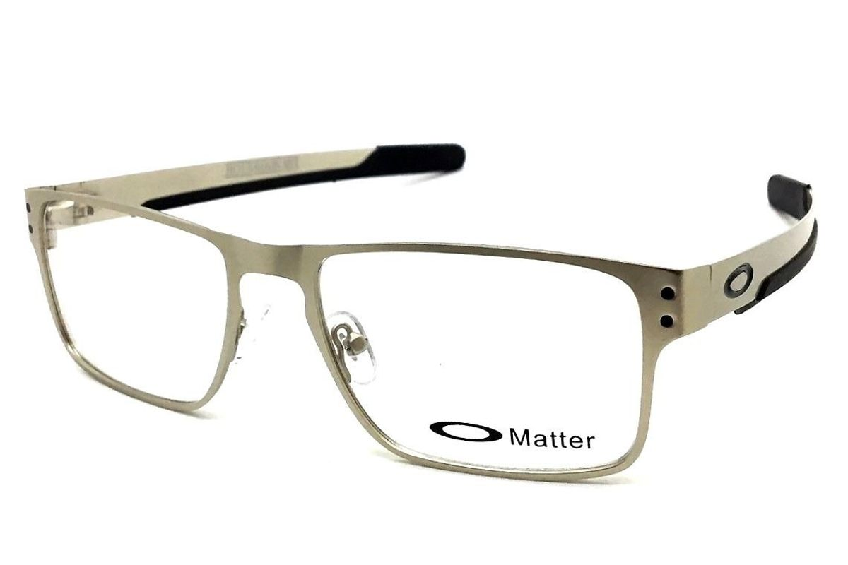 62280d823 armação oakley oculos grau masculino holbrook metal - óculos oakley