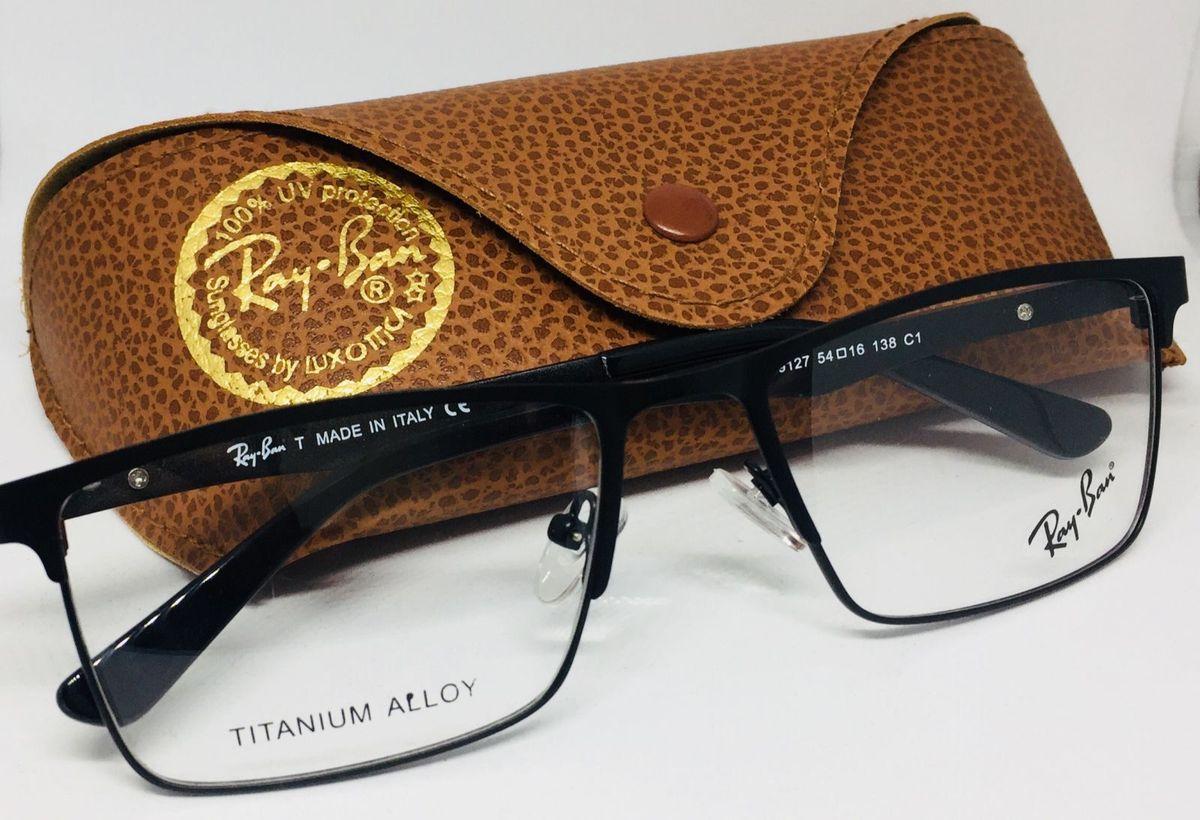 bca393f88 Armação Óculos de Grau + Case em Couro | Óculos Masculino Oakley ...