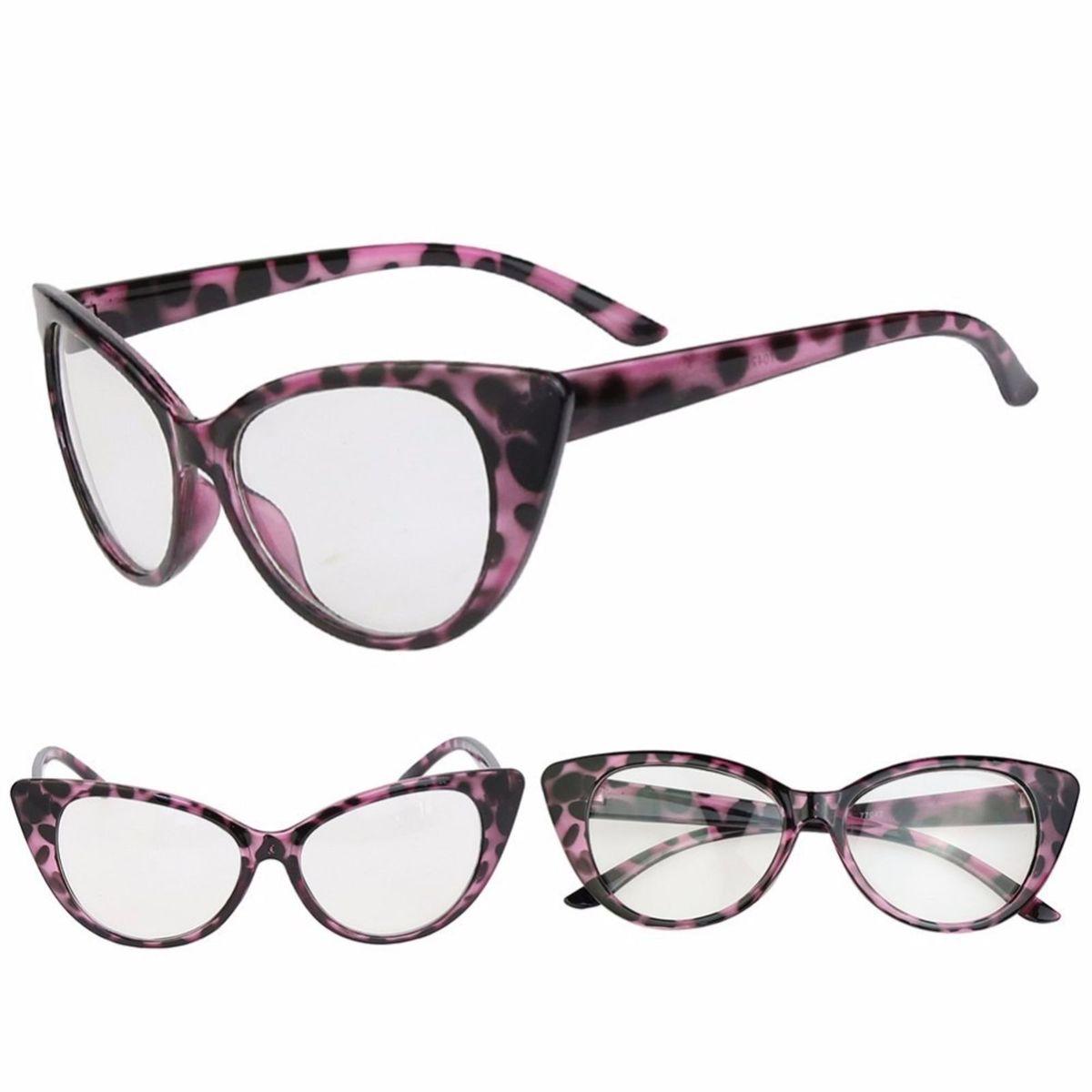 8590dc485 Armação Óculos de Grau - Gatinho Cat Retrô Wayfarer Fashion | Óculos  Feminino Nunca Usado 16417965 | enjoei