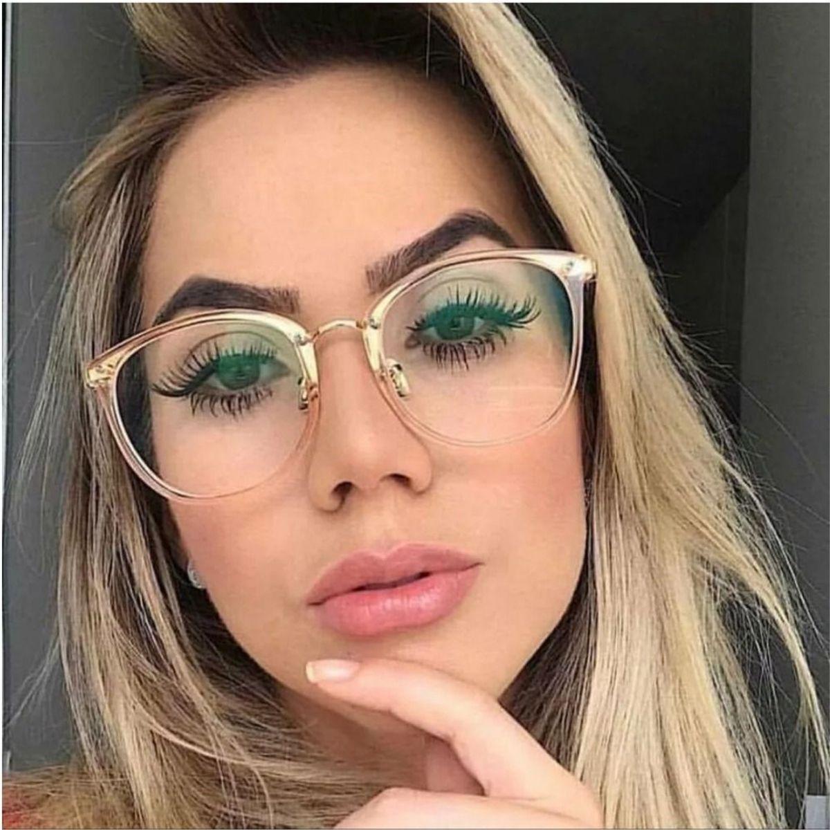 d17debfee Armação Óculos de Grau Geek | Óculos Feminino Nunca Usado 33278959 | enjoei