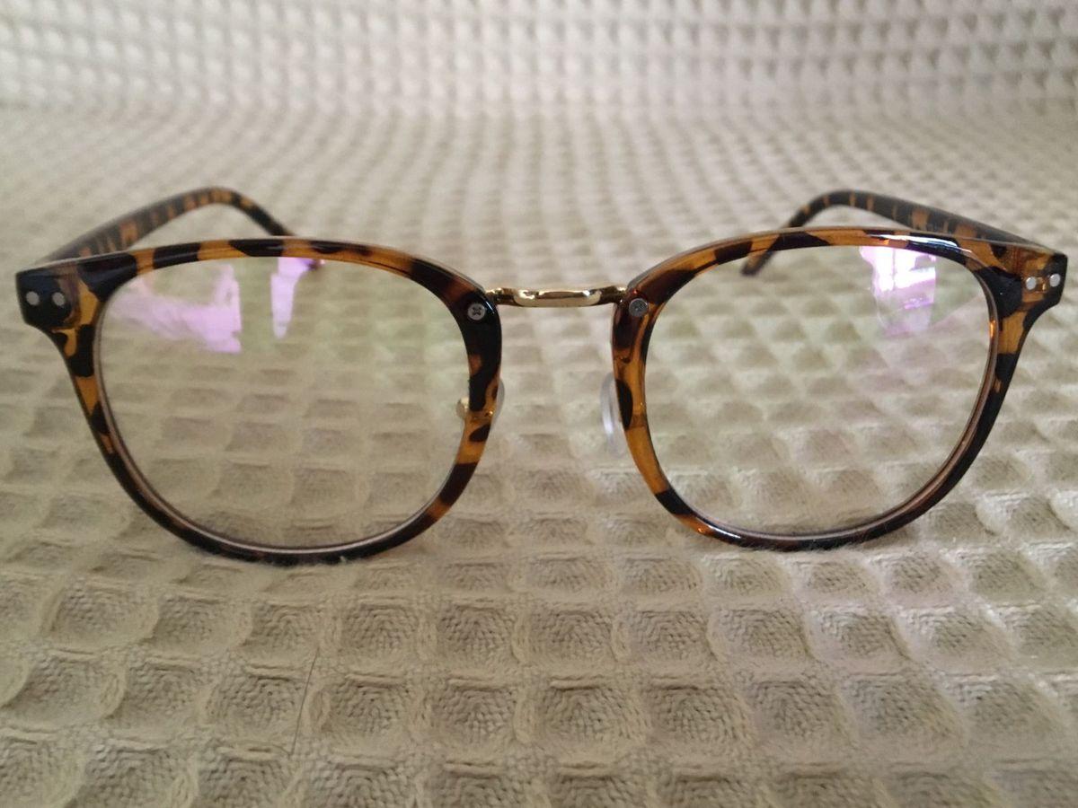 32271501d04da armação óculos de grau oncinha tigrinho - óculos sem marca