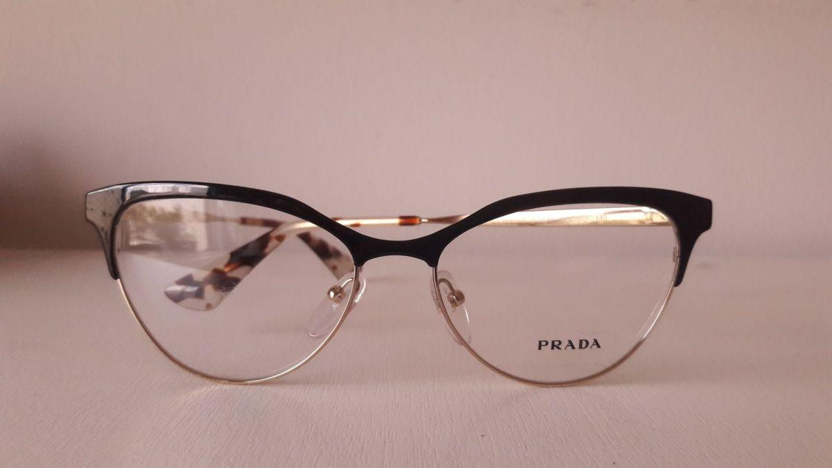 Armação Óculos de Grau Prada   Óculos Feminino Prada Nunca Usado 10    enjoei