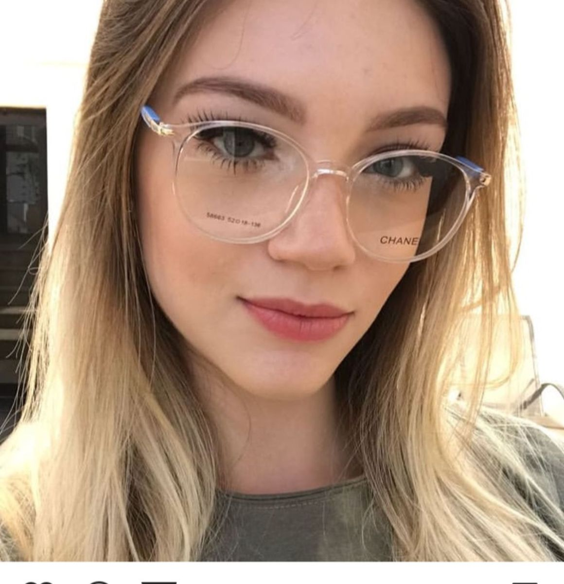 3522737cf0a5b armação óculos de grau transparente - óculos sem marca