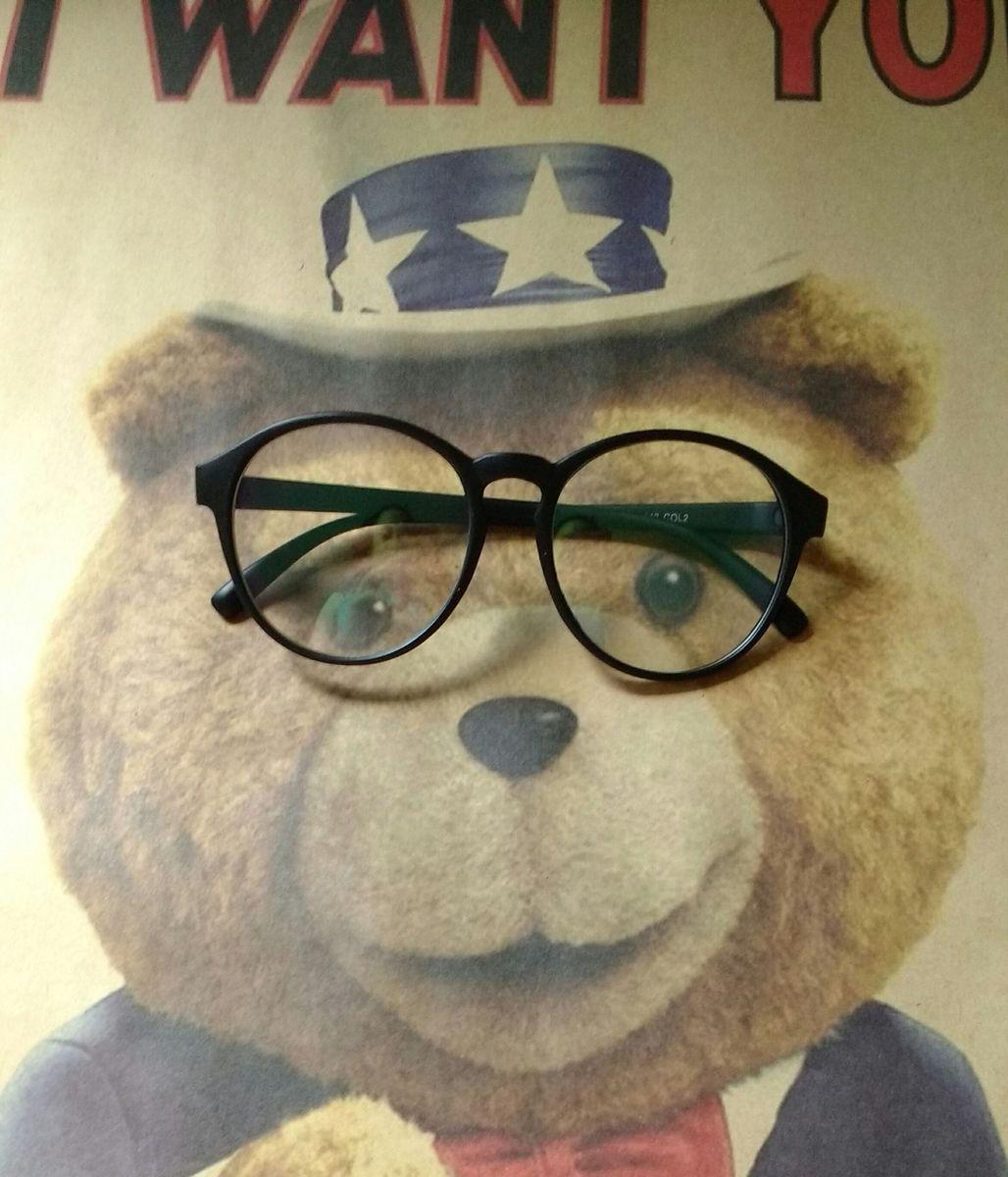 ab7336376dc2e Armação Óculos de Grau Vintage Unissex   Óculos Feminino Importado ...