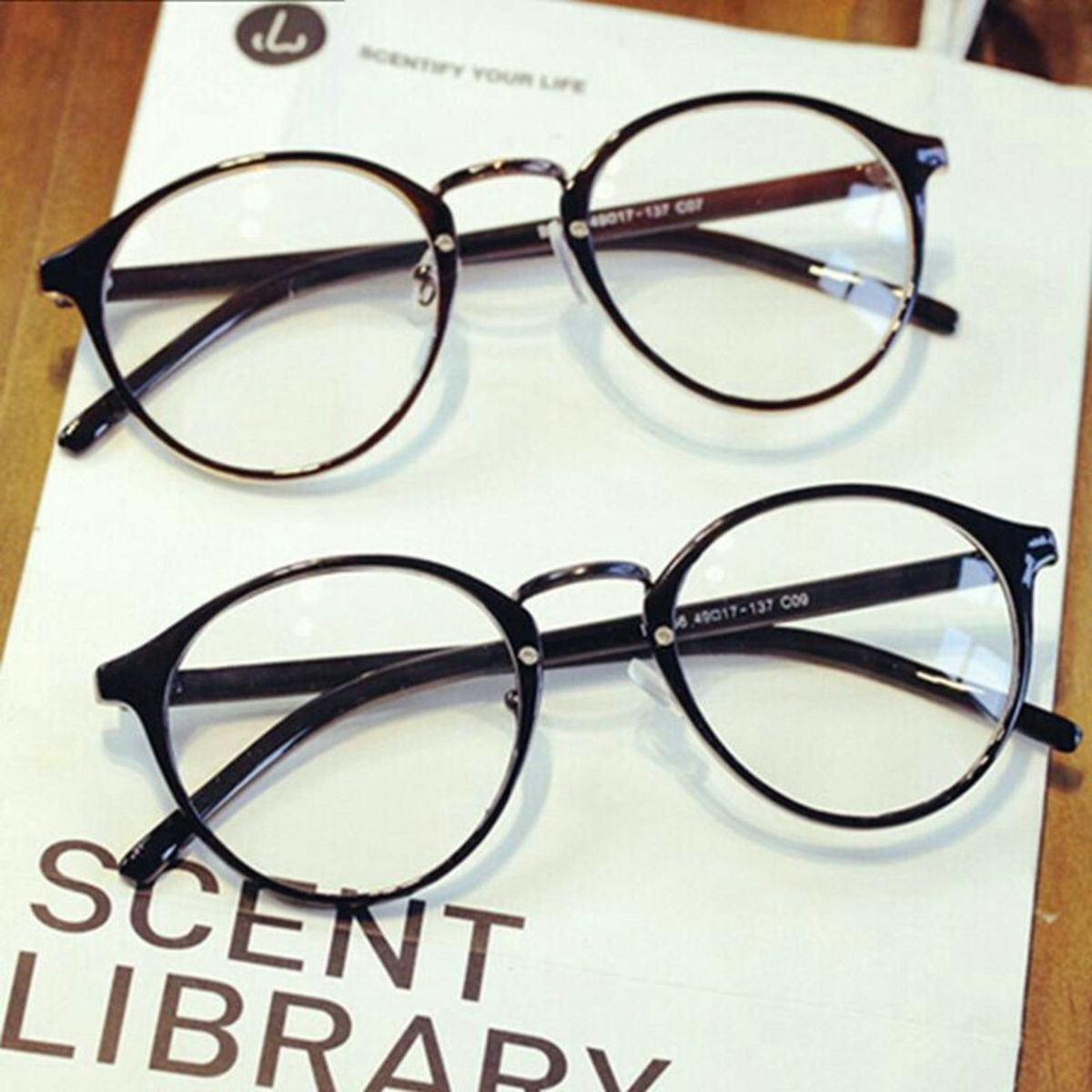 532192145762b armação óculos grau retrô unissex geek redondo - óculos importado