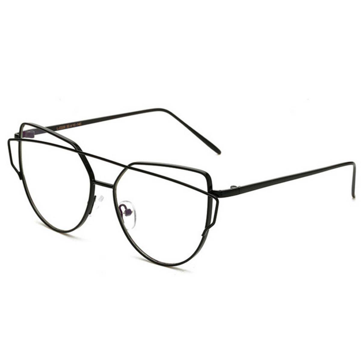 armação óculos para grau metálica preto fashion hippie retrô pop - óculos  sem marca e317cb160c