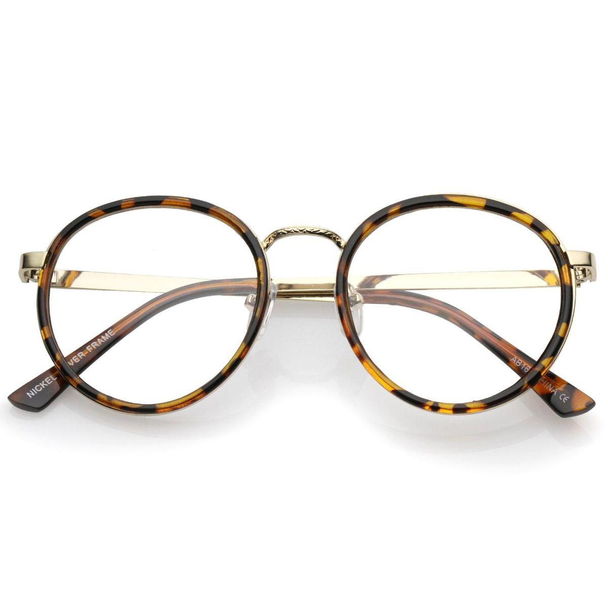 4f33886c7 Armação Óculos Redondo - Tartarugado - Unissex | Óculos Feminino Nunca  Usado 21535523 | enjoei