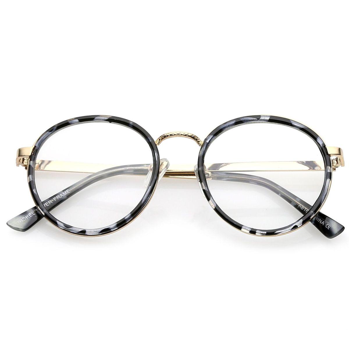 Armação Óculos Redondo - Unissex   Óculos Feminino Nunca Usado ... 9bf6761e0d