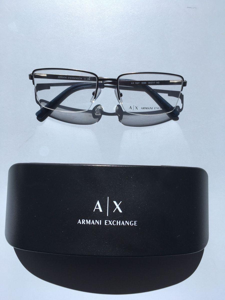 eee818313b0a1 Armação Original Armani Exchange   Óculos Masculino Armani Exchange ...