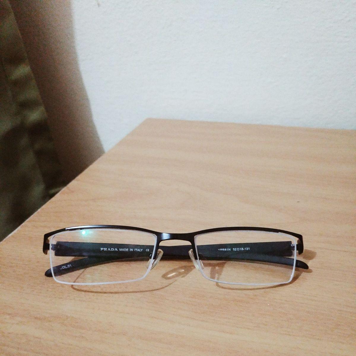18179e7d4a65c armação original prada - óculos de grau - óculos prada