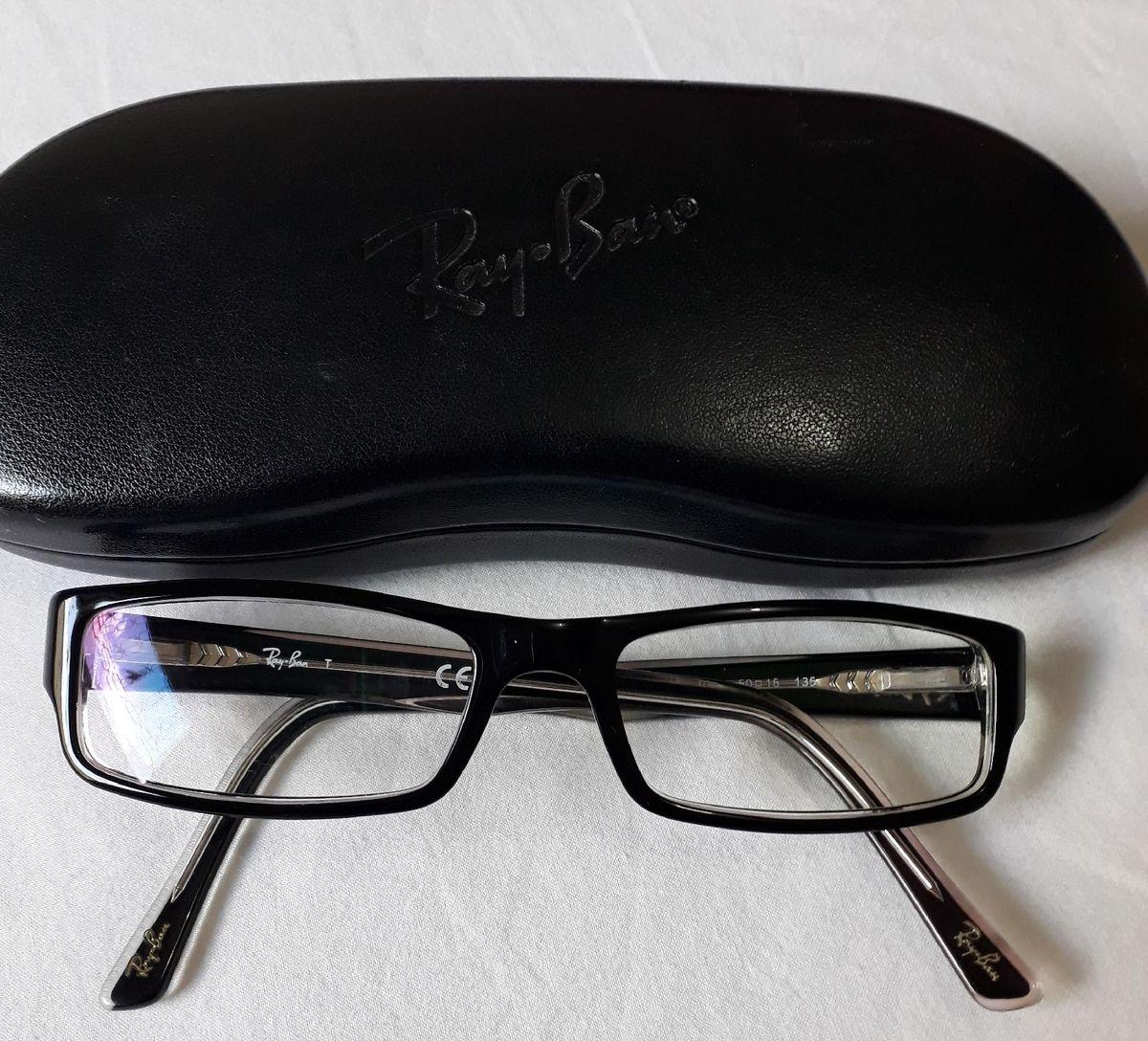 c8c46dc41 Armação para Lente de Grau - Ray Ban Original   Óculos Feminino Ray ...